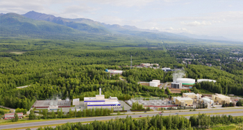 Artist's rendition of the George M. Sullivan Plant 2A expansion project -a highly efficient, 120MW, combine-cycle thermal generation plant in east Anchorage.